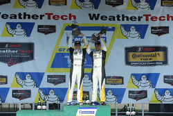 Race winners Antonio Garcia, Jan Magnussen, Corvette Racing