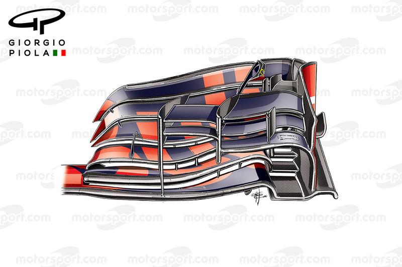 Red Bull RB12: Frontflügel 2