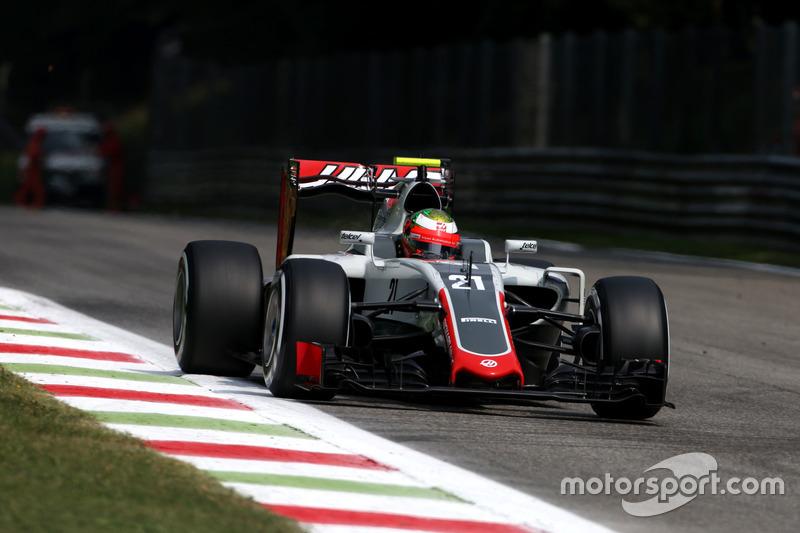 10. Esteban Gutierrez, Haas F1 Team VF-16