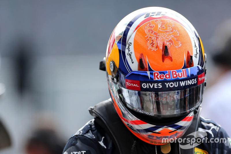 Oranje helm