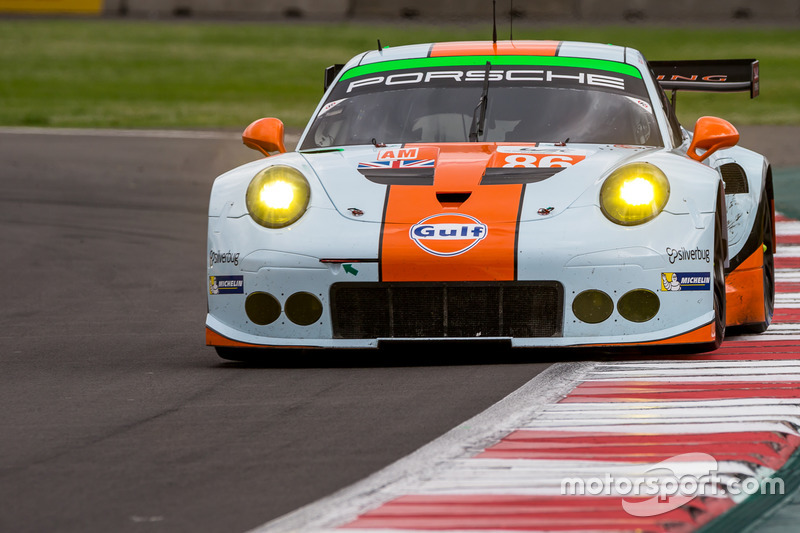 4. GTE-Am: #86 Gulf Racing, Porsche 911 RSR: Michael Wainwright, Adam Carroll, Ben Barker