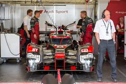Dr. Wolfgang Ullrich avec la #8 Audi Sport Team Joest Audi R18 e-tron quattro