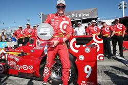 Polesitter Scott Dixon, Chip Ganassi Racing, Chevrolet
