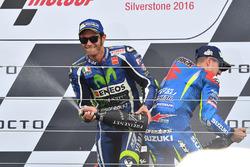 Podium: tercero, Valentino Rossi, Yamaha Factory Racing