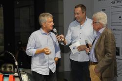 Клаус Нидвиц, Патрик Саймон, Райнер Браун на открытии выставки