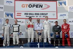 Podyum: 1. #1 BMW Team Teo Martin, BMW M6 GT3: Miguel Ramos, Pieter Schothorst, 2. #19 Lechner Racing Mercedes AMG GT3: Mario Plachutta, Thomas Jäger, 3. #22 Balfe Motorsport McLaren 650 S GT3: Shaun Balfe, Adam Carroll