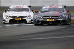 Maximilian Götz, Mercedes-AMG Team HWA, Mercedes-AMG C63 DTM; Martin Tomczyk, BMW Team Schnitzer, BMW M4 DTM