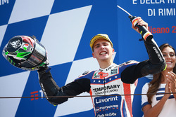 Il vincitore della gara Lorenzo Baldassarri, Forward Racing