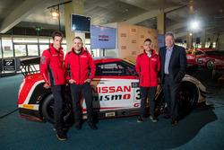 Rick Kelly, Nissan Motorsport, Todd Kelly, Nissan Motorsport, Richard Emery, Nissan Australia  CEO, Michael Caruso, Nissan Motorsport