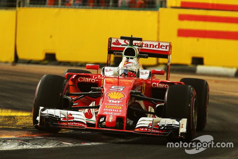 22º: Sebastian Vettel, Ferrari SF16-H (15 posiciones de penalización)