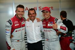 Pole position LMP1 : #7 Audi Sport Team Joest Audi R18: Marcel Fässler, Andre Lotterer, Benoit Tréluyer