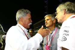 Chase Carey, Formula One Group Chairman on the grid