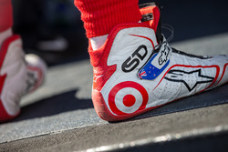 Shoes of Scott Dixon, Chip Ganassi Racing Chevrolet