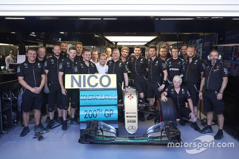 Nico Rosberg: 206 Rennen