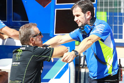 Hervé Poncharal, Monster Yamaha Tech 3 director del equipo, Brivio