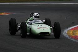 #11 Lotus 24 'BRP'(1962): Michel Wanty