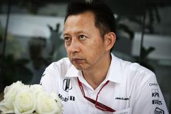 Yusuke Hasegawa, Head of Honda F1 Programme