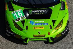 #16 Change Racing, Lamborghini Huracan GT3: Spencer Pumpelly, Corey Lewis, Richard Antinucci, detail