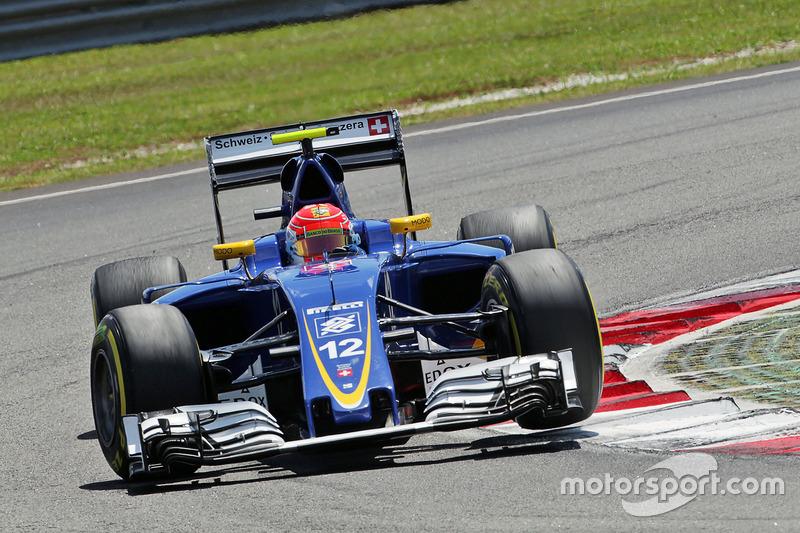 18: Феліпе Наср, Sauber C35