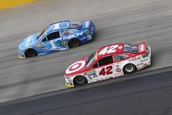 Jamie McMurray, Chip Ganassi Racing Chevrolet, Kyle Larson, Chip Ganassi Racing Chevrolet
