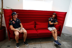Daniel Ricciardo and  Max Verstappen, Red Bull Racing