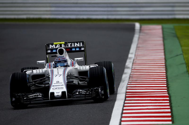 10. Valtteri Bottas, Williams FW38