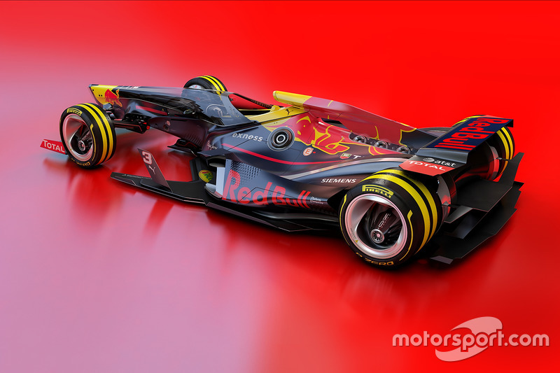 Red Bull Racing 2030 diseño fantasy