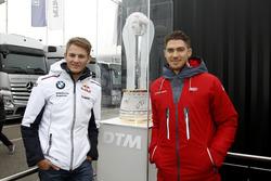 Marco Wittmann, BMW Team RMG ed Edoardo Mortara, Audi Sport Team Abt Sportsline
