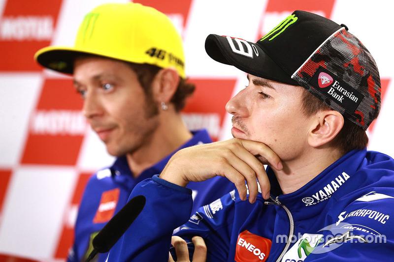 Хорхе Лоренсо, Yamaha Factory Racing, Валентино Россі, Yamaha Factory Racing