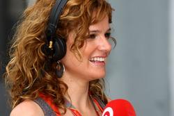Spanish TV girl