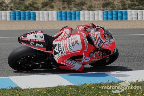 Ducati GP12 test
