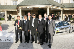 DTM Meets Henkell, Guests from Hankook Tire