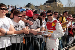 Mike Rockenfeller Audi Sport Team Abt Sportsline Audi A4 DTM
