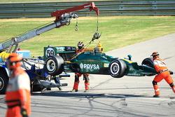 E.J. Viso, KV Racing Technology-Lotus out