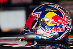Helmet of Kasey Kahne, Red Bull Racing Team Toyota