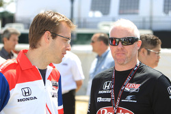 Media luncheon: Sébastien Bourdais and Paul Tracy