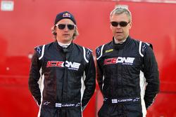 Kimi Raikkonen and Kaj Lindstrom