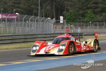 #13 Rebellion Racing Lola B 10/60 Coupe-Toyota: Andrea Belicchi, Jean-Christophe Boullion, Guy Smith