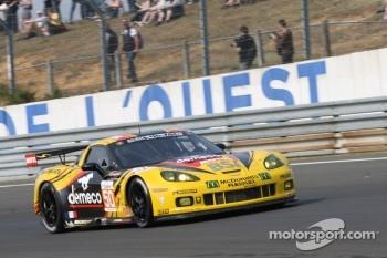 #50 Larbre Competition Chevrolet Corvette C6 - ZR1: Tom Milner, Oliver Gavin, Olivier Beretta, Jan Magnussen