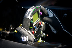 #055 Level 5 Motorsports Lola Honda steering wheel