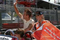Drivers parade: Sébastien Bourdais