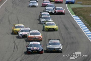 The start of the race in Hockenheim