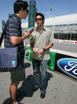 Molson Indy 2005 media event: Andrew Ranger