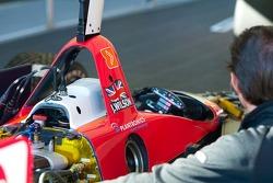 RuSPORT mechanic works on #10 car of AJ Almendinger