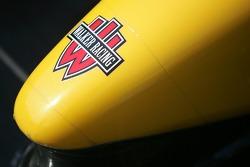 Nose cone of Team Australia Racing car