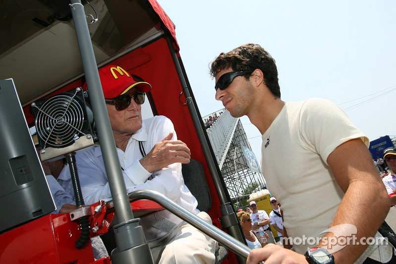 Paul Newman et Bruno Junqueira