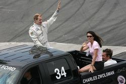 Drivers parade: Charles Zwolsman