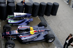 Tyres under cover