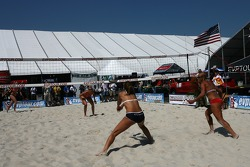 Beach volley area