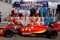 Newman Hass Lanigan celebrates 100 wins